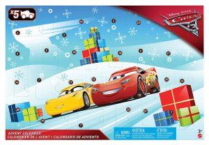 Calendrier de l'avent Cars 3 Disney Pixar