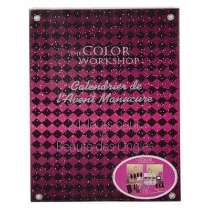Calendrier de l'Avent kit de manucure adulte the color Workshop