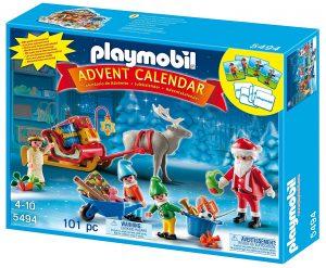 Calendrier de l'Avent atelier du Père Noël Playmobil