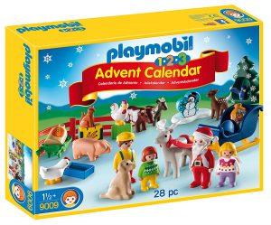Calendrier de l'Avent Playmobil 123