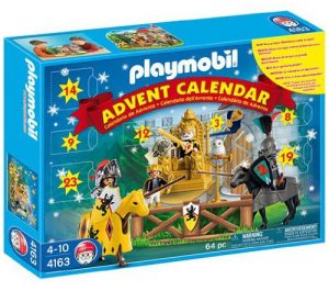 Calendrier avent Playmobil chevalier
