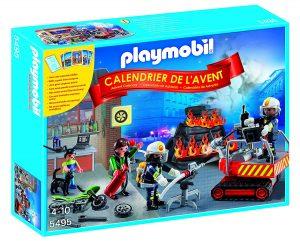 Calendrier de l'Avent Playmobil pompiers
