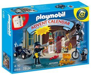 Calendrier de l'Avent Playmobil police