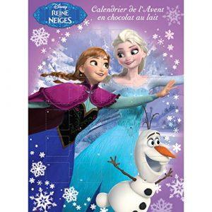 Calendrier de l'avent Reine des neiges Disney