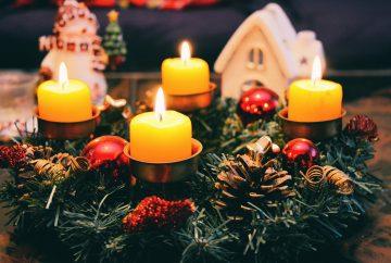 Calendrier de l'Avent adultes bougies et encens