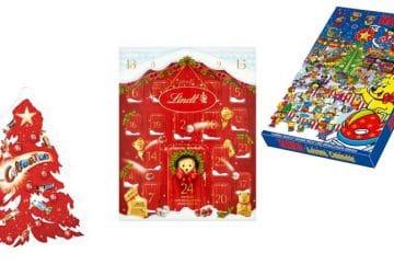Calendrier de l'Avent bonbons et chocolats