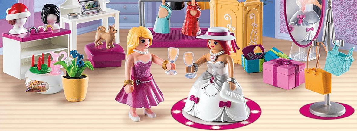 Calendriers de l'Avent Playmobil pour fille