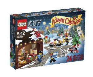 Calendrier de l'Avent Lego City 60024