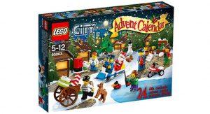 Calendrier de l'Avent Lego City 60063