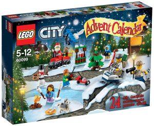 Calendrier de l'Avent Lego City 60099