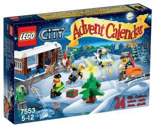 Calendrier de l'Avent Lego City 7553