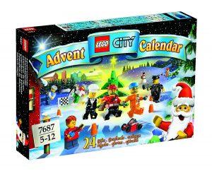 Calendrier de l'avent 7687 Lego city