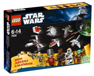 Calendrier de l'Avent Lego Star Wars 7958