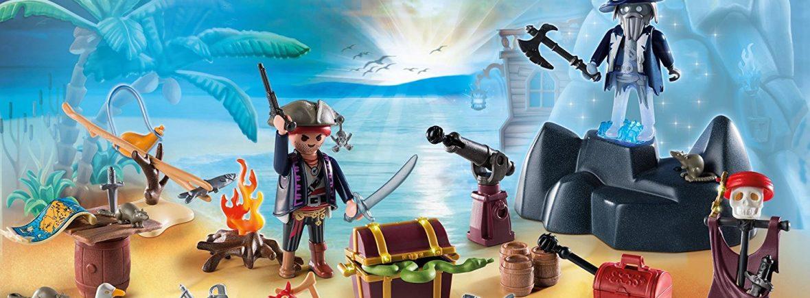 Calendriers de l'Avent playmobil pirates