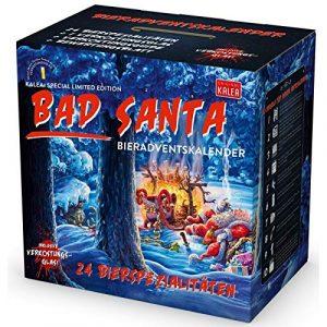 Calendrier de l'Avent bière Bad Santa