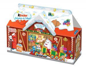 Calendrier de l'Avent gare de Noël Kinder