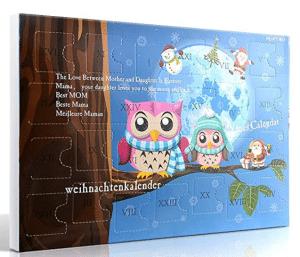 Calendrier de l'Avent bijoux Mjartoria 2020