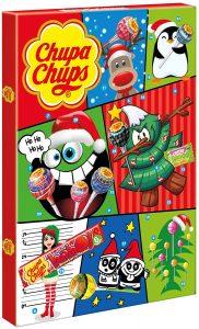Calendrier de l'Avent sucettes et bonbons Chupa Chups