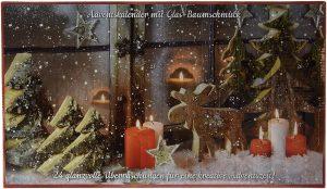 Calendrier de l'Avent décorations de Noël Heitmann