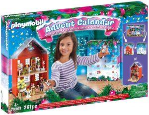 """Calendrier de l'Avent géant Playmobil """"Noël en famille"""" 70383"""
