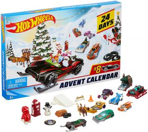 Calendrier de l'Avent Hot Wheels