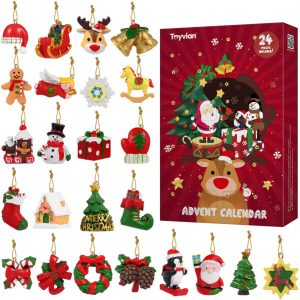 Calendrier de l'Avent décorations de Noël
