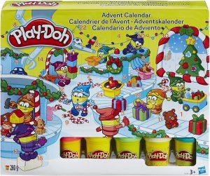 Calendrier de l'Avent pâte à modeler Play-Doh