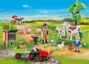 """Calendrier de l'Avent Playmobil """"les animaux de la ferme"""" 70189"""