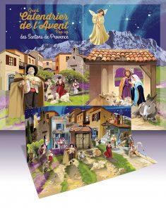 Calendrier de l'Avent sur la pastorale des santons de Provence