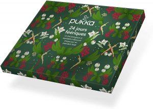 Calendrier de l'Avent thé bio Pukka