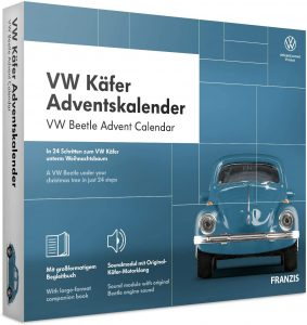 Calendrier de l'Avent Franzis VW Coccinelle