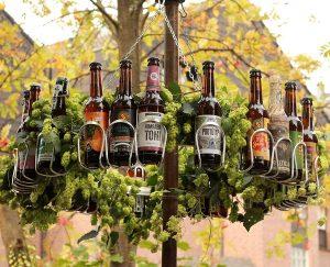 Couronne pour calendrier de l'Avent bière