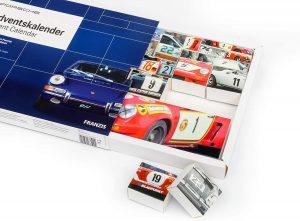 Calendrier de l'Avent Porsche