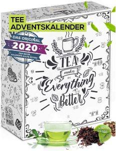 Calendrier de l'Avent thé Boxiland 2020