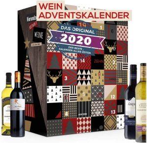 Calendrier de l'Avent vins Boxiland 2020